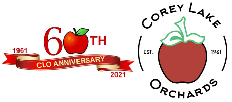 Corey Lake Orchards – Three Rivers, Michigan Logo